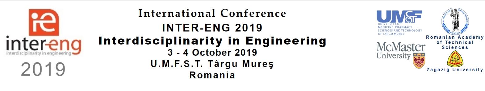 13th International Conference on Interdisciplinarity in Engineering